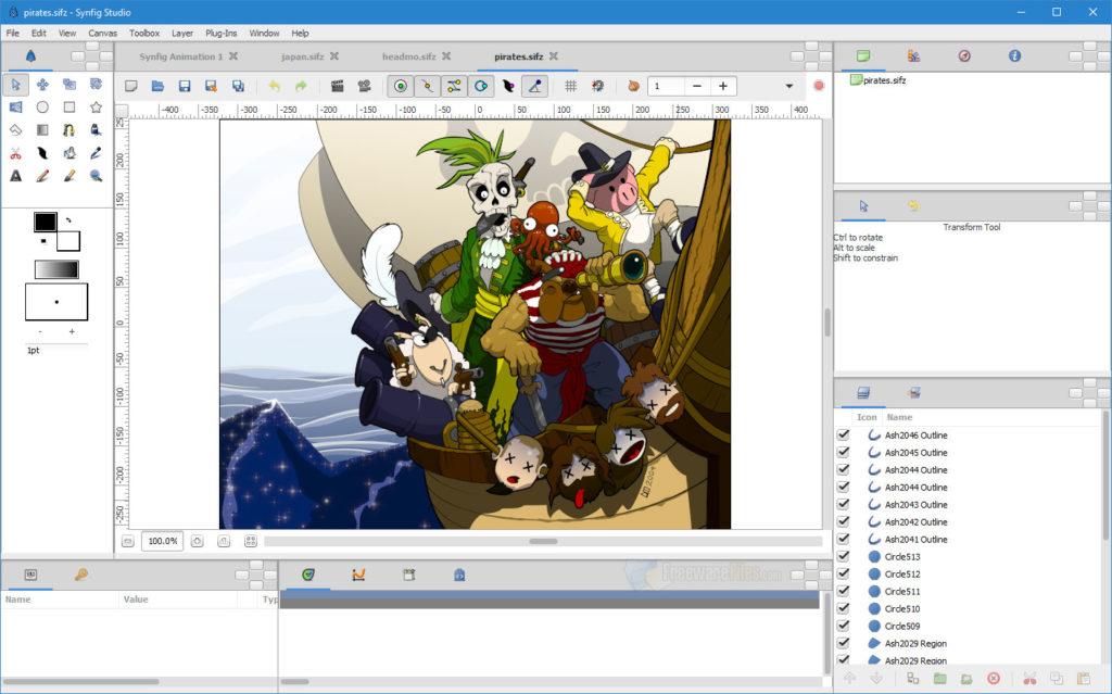 Software dan Aplikasi Gratis Pembuat Desain Animasi